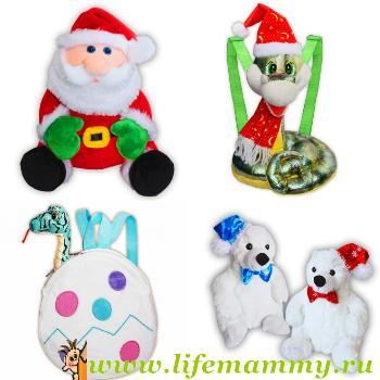 Мягкие игрушки как упаковка для подарка 806