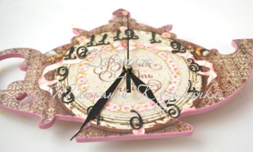 Стильные часы для дома